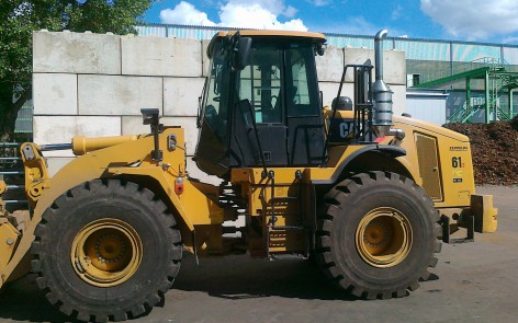 Cat 950 H mit DPX Filter